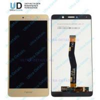 Дисплей Huawei Honor 6X/GR5 2017/BLN-AL10/BLN-L21/BLN-L22/BLN-L24 в сборе с тачскрином (золотой)