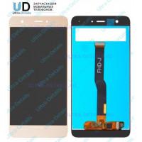 Дисплей Huawei Nova/CAN-L11/CAN-L01 в сборе с тачскрином (золотой)