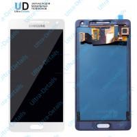 Дисплей Samsung A500F (A5 2015) в сборе с тачскрином белый (OLED)