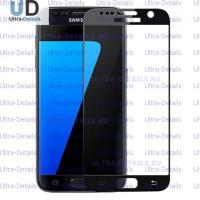 Защитное стекло 3D Samsung G930F (S7) черный