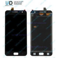 Дисплей Asus ZB553KL (ZenFone Live) в сборе с тачскрином (черный)