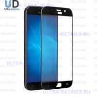 Защитное стекло 3D Samsung A520F (A5 2017) (черный)