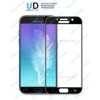 Защитное стекло 3D Samsung A720F (A7 2017) (черный)