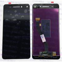 Дисплей Lenovo Vibe S1 (S1a40) в сборе с тачскрином (черный)