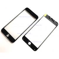 Стекло с рамкой для переклейки iPhone 6 Plus черный