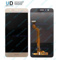 Дисплей Huawei Honor 9/9 Premium/STF-L09 в сборе с тачскрином (золотой)