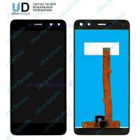 Дисплей Huawei Y5 2017/Y6 2017 в сборе с тачскрином черный