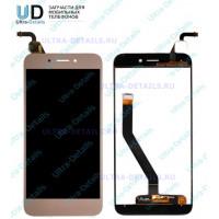 Дисплей Huawei Honor 6A/DLI-TL20 в сборе с тачскрином Золотой