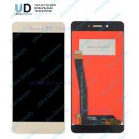 Дисплей Huawei Honor 6C/DIG-L21HN в сборе с тачскрином Золотой