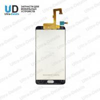 Дисплей Alcatel OT-5085D (A5 LED) в сборе с тачскрином черный