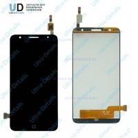 Дисплей Alcatel OT-5056D (Pop 4 Plus) в сборе с тачскрином черный