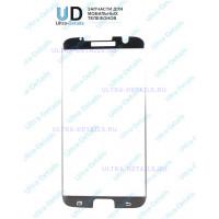 Защитное стекло 3D Samsung G935F (S7 Edge) (с вырезом под динамик и камеру) черный