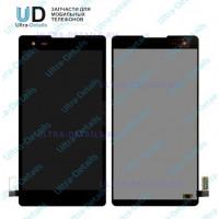 Дисплей LG K200DS (X style) в сборе с тачскрином (черный)