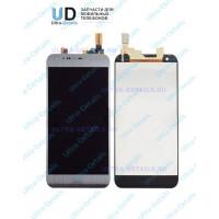 Дисплей LG K580DS (X cam) в сборе с тачскрином (cерый)