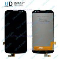 Дисплей LG K100DS (K3 LTE) в сборе с тачскрином (черный)