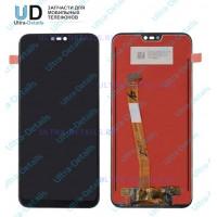Дисплей Huawei P20 lite/Nova 3e в сборе с тачскрином (черный)