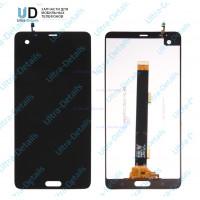 Дисплей HTC U Ultra в сборе с тачскрином (черный)