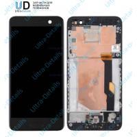 Дисплей HTC U Play в сборе с тачскрином с рамкой (черный) Оригинал
