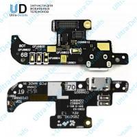 Плата Asus ZB501KL (ZenFone 3) на системный разъем/микрофон