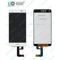 Дисплей Huawei Honor 5A (LYO-L21)/Y5 II (CUN-U29) в сборе с тачскрином (белый)