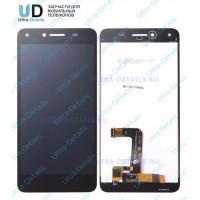 Дисплей Huawei Honor 5A (LYO-L21)/Y5 II (CUN-U29) в сборе с тачскрином (черный) (матрица Оригинал)