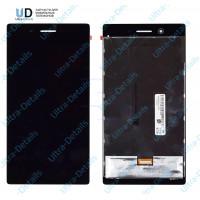 Дисплей Lenovo Tab 3 730X в сборе с тачскрином (черный)