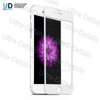 6D стекло для iPhone 6/6S (полное покрытие) белый