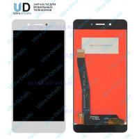 Дисплей Huawei Honor 6C/DIG-L21HN в сборе с тачскрином (белый)