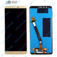 Дисплей Huawei Y9 (2018) в сборе с тачскрином (золотой)