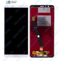 Дисплей Huawei Honor 7X в сборе с тачскрином (белый)