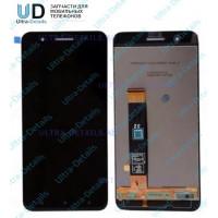 Дисплей HTC One X9 в сборе с тачскрином (черный)