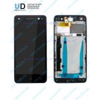 Дисплей Lenovo Vibe S1 Lite (S1La40) в сборе с тачскрином (черный) (с синей рамкой)