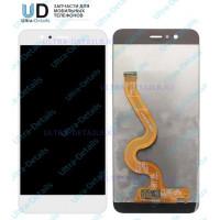 Дисплей Huawei Nova 2 Plus/BAC-L21/BAC-AL00 в сборе с тачскрином белый (матрица Оригинал)