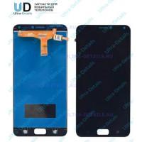 Дисплей Asus ZC520KL (ZenFone 4 Max) в сборе с тачскрином (черный) матрица оригинал
