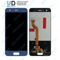 Дисплей Huawei Honor 9/9 Premium/STF-L09 в сборе с тачскрином (синий) матрица оригинал