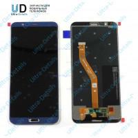 Дисплей Huawei Honor 10  в сборе с тачскрином (синий)