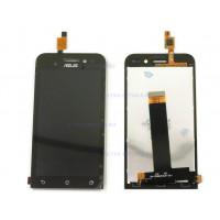 Дисплей Asus ZenFone Go (ZC451TG) в сборе с тачскрином (черный) с рамкой
