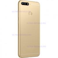 Задняя крышка Huawei Honor 7A Pro (золото)