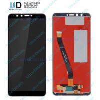 Дисплей Huawei Y9 (2018) в сборе с тачскрином (черный)