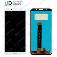 Дисплей Huawei Y5 2018/Y5 Prime 2018/Honor 7A/Y5 lite в сборе с тачскрином (белый)