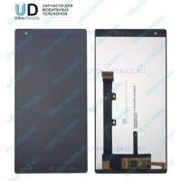 Дисплей Lenovo Vibe X3 в сборе с тачскрином (черный)