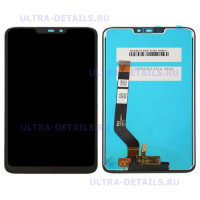 Дисплей Huawei Honor 8C в сборе с тачскрином (черный)