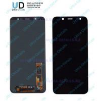 Дисплей Samsung J810F (J8) в сборе с тачскрином черный  Оригинал