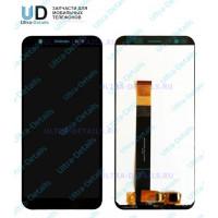 Дисплей Asus ZB555KL (ZenFone Max M1) в сборе с тачскрином (черный)