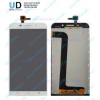 Дисплей Asus ZC550KL (ZenFone Max) в сборе с тачскрином (белый)