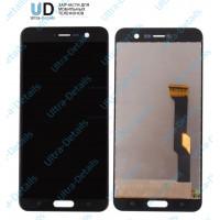 Дисплей HTC U Play в сборе с тачскрином (черный) Оригинал