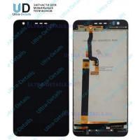Дисплей HTC Desire 825 Dual в сборе с тачскрином черный